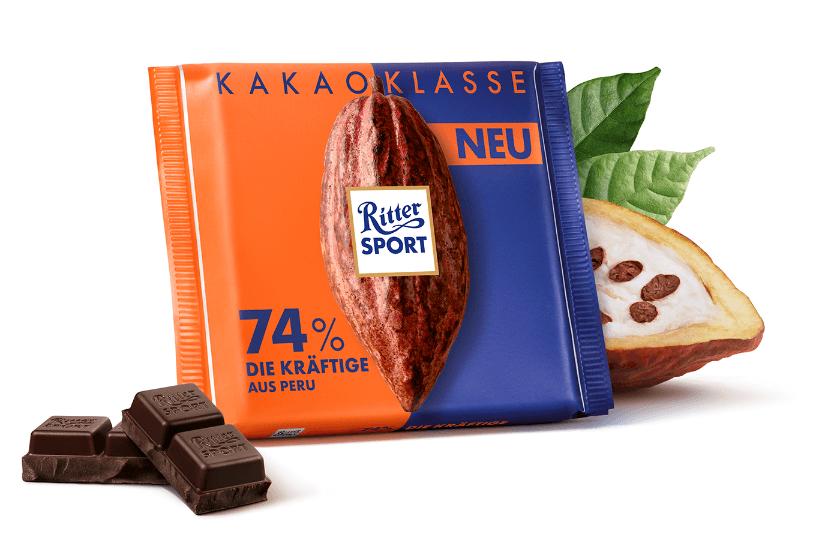 Czekolada gorzka 74% kakao