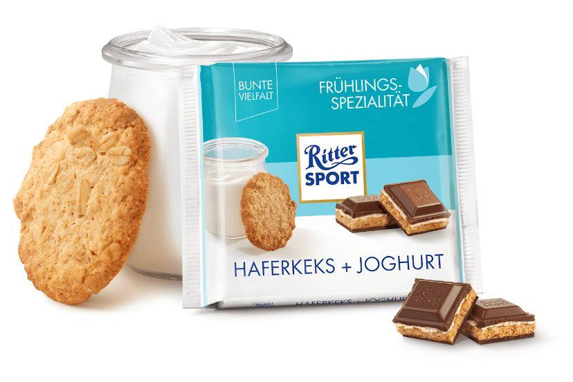 RS 100g Wiosna czekolada z ciastkiem owsianym i jogurtem